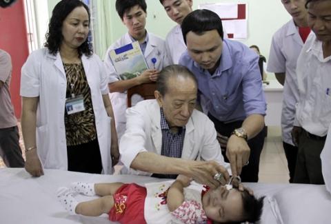 Thắp sáng niềm tin cho trẻ em khuyết tật